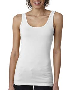 White Ladies' Jersey Tank Top