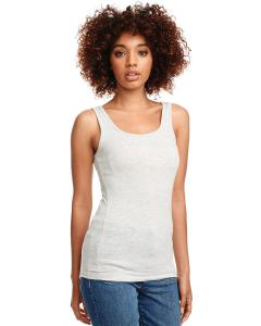 Lt Heather Gray Ladies' Jersey Tank Top