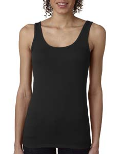 Black Ladies' Jersey Tank Top