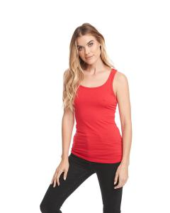 Red Ladies' Jersey Tank Top