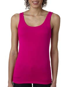 Raspberry Ladies' Jersey Tank Top