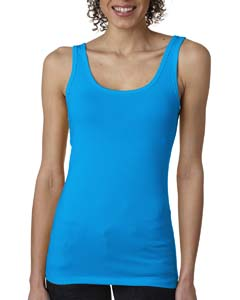 Turquoise Ladies' Jersey Tank Top