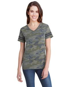 Vn Camo/ Bn Smk Ladies' Football T-Shirt