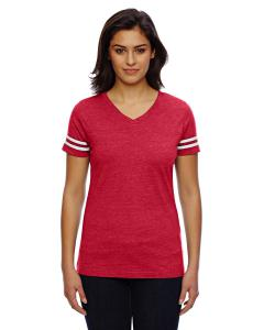 Vn Red/ Bld Wht Ladies' Football T-Shirt