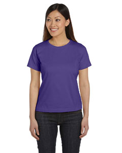Purple Women's Combed Ringspun Jersey T-Shirt