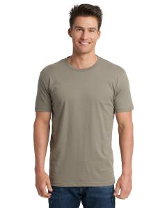 Warm Gray Men's Premium Fitted Short-Sleeve Crew