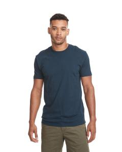 Cool Blue Men's Premium Fitted Short-Sleeve Crew
