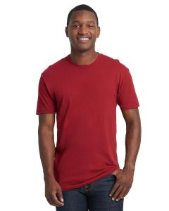 Cardinal Men's Premium Fitted Short-Sleeve Crew