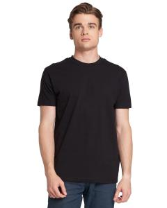 Black Men's Made in USA Cotton Crew