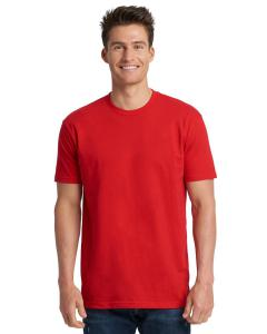 Red Men's Made in USA Cotton Crew