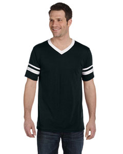 Black/white Adult Sleeve Stripe Jersey