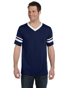 Navy/white Adult Sleeve Stripe Jersey
