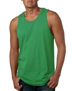 Kelly Green Men's Premium Jersey Tank