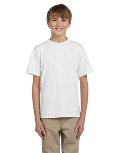 White Youth 5 oz. HiDENSI-T® T-Shirt