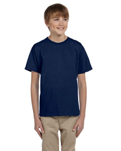 J Navy Youth 5 oz. HiDENSI-T® T-Shirt