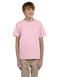 Classic Pink Youth 5 oz. HiDENSI-T® T-Shirt