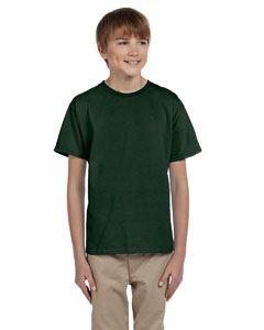 Forest Green Youth 5 oz. HiDENSI-T® T-Shirt