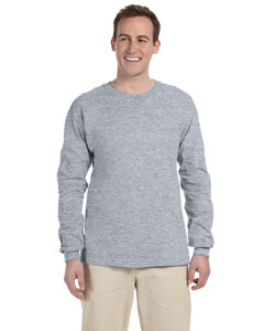 Athletic Heather 5 oz. HiDENSI-T® Long-Sleeve T-Shirt