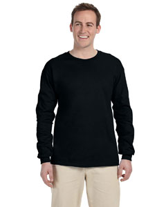Black 5 oz. HiDENSI-T® Long-Sleeve T-Shirt