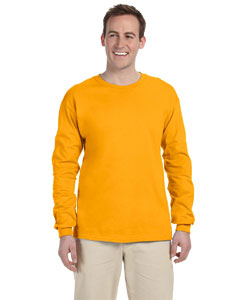 Gold 5 oz. HiDENSI-T® Long-Sleeve T-Shirt