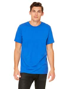 True Royal Unisex Poly-Cotton Short-Sleeve T-Shirt