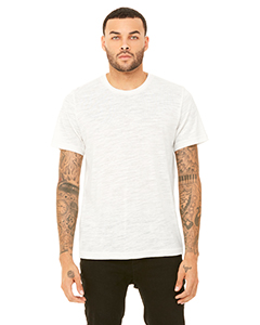 Natural Slub Unisex Poly-Cotton Short-Sleeve T-Shirt