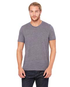 Asphalt Slub Unisex Poly-Cotton Short-Sleeve T-Shirt