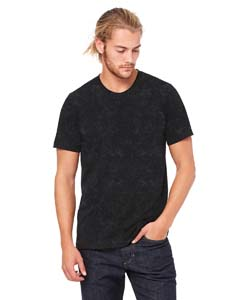 Blk Mineral Wsh Unisex Poly-Cotton Short-Sleeve T-Shirt