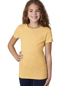 Banana Cream Girls' Princess CVC T-Shirt