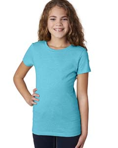Bondi Blue Girls' Princess CVC Tee