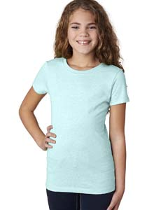 Ice Blue Girls' Princess CVC T-Shirt