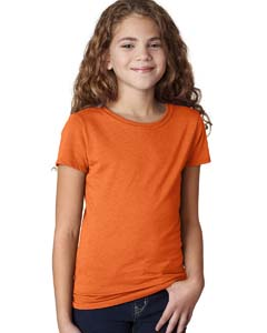 Orange Girls' Princess CVC T-Shirt
