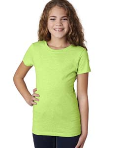 Neon Green Girls' Princess CVC T-Shirt