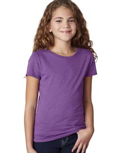 Purple Berry Girls' Princess CVC Tee