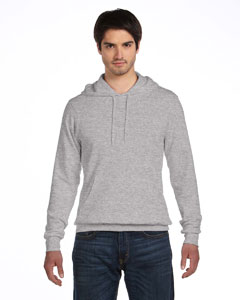 Athletic Heather Unisex Poly-Cotton Fleece Pullover Hoodie