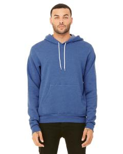Heather Tru Royl Unisex Poly-Cotton Fleece Pullover Hoodie