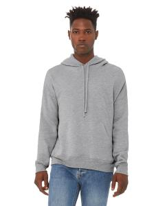 Athletic Heather Unisex Sponge Fleece Pullover Hoodie