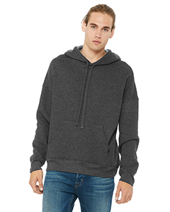 Dark Gry Heather Unisex Sponge Fleece Pullover Hoodie