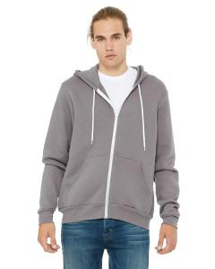 Storm Unisex Poly-Cotton Sponge Fleece Full-Zip Hooded Sweatshirt
