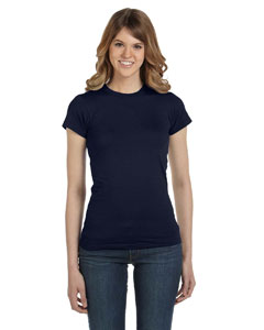 Navy Women's Junior Fit Fashion T-Shirt