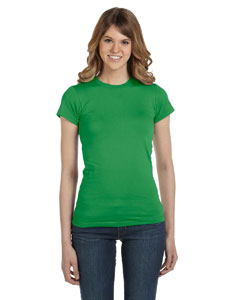 Green Apple Women's Junior Fit Fashion T-Shirt