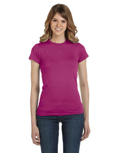 Raspberry Women's Junior Fit Fashion T-Shirt