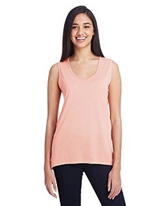 Dusty Rose Ladies Freedom Sleeveless T-Shirt
