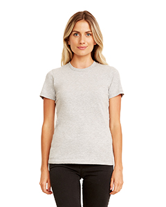 Heather Gray Ladies' Made in USA Boyfriend T-Shirt