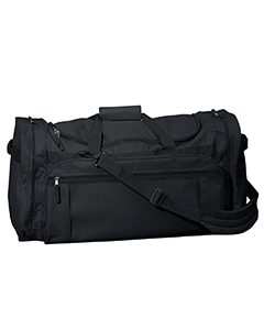 Black Explorer Large Duffel Bag