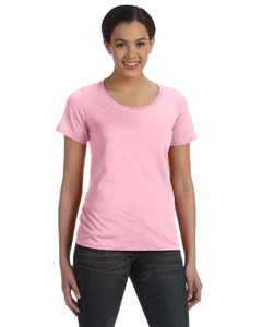 Charity Pink Ladies' Featherweight Scoop T-Shirt