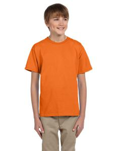 Safety Orange Youth Unisex 5 oz. HD Cotton™ T-Shirt