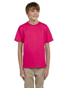 Cyber Pink Kids 5 oz., 100% Heavy Cotton HD® T-Shirt