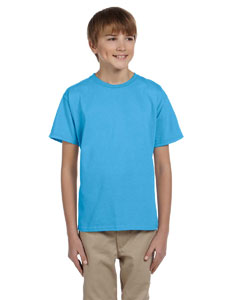 Aquatic Blue Youth Unisex 5 oz. HD Cotton™ T-Shirt