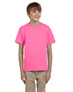 Neon Pink Kids 5 oz., 100% Heavy Cotton HD® T-Shirt